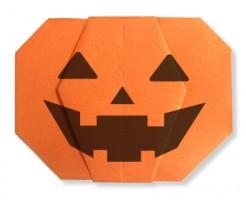 折り紙ジャックランタン