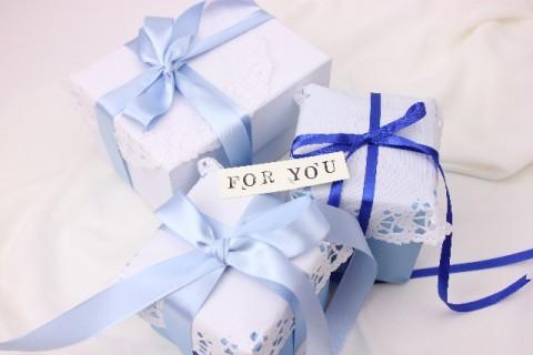 プレゼントとメッセージ