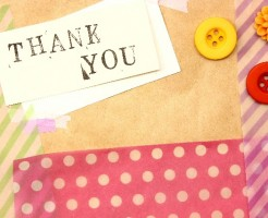 感謝の気持